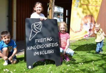 2475 Kugeln wurden zum 70. Geburtstag des Vorarlberger Kinderdorfs in den Kolibri-Eissalons verkauft. Foto: handout/Flatz-Posch