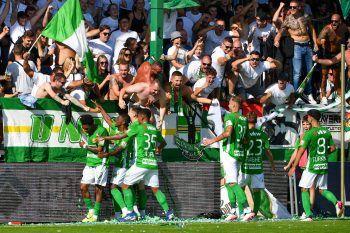 70 Jahre Reichshofstadion und 3:1-Sieg in Lustenau: Ein wunderbarer Tag für Fans und Spieler.