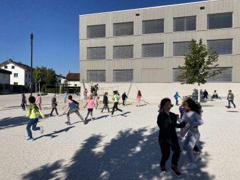 """<p class=""""caption"""">Auch in Wolfurt wurden die Schüler zwei Wochen vor dem regulären Schulbeginn für einen guten Start """"auf Stand"""" gebracht. Zwei Teams von Lehrpersonen und Studenten engagierten sich in der Mittelschule und der VS Bütze.</p>"""