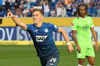 Christoph Baumgartner bejubelt seinen Treffer. Foto: AFP