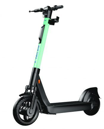Das ist der E-Scooter der Marke Tier, den man in Dornbirn leihen kann.