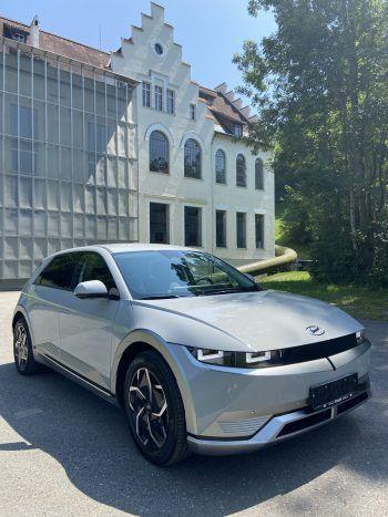 Der neue Ioniq 5 läutet in der Elektromobilität eine neue Ära ein.Fotos: handout/Scalet/Hyundai