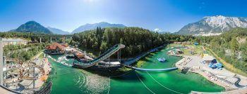 """Die """"AREA 47"""" am Eingang zum Tiroler Ötztal bietet Spaß und Action für die ganze Familie."""