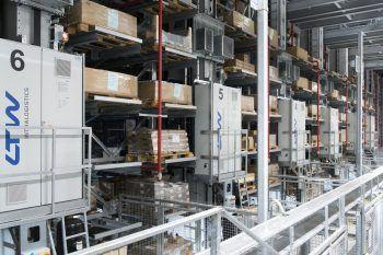 Erweiterung des vollautomatischen Logistikzentrums für Haberkorn in Wolfurt.