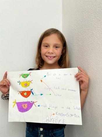 """<p class=""""caption"""">Finja hat für unser Gewinnspiel eine tolle Zeichnung gemalt und gewinnt deshalb 200 Euro Schulgeld! Fotos: handout/privat</p>"""