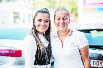 """<p class=""""caption"""">               Gül (24) aus Lustenau und Hülya (23) aus Dornbirn bei Sugar Mum: """"Wir möchten sowohl die Donuts als auch den Bubbletea kosten. Wir mögen fruchtige Zutaten, z.B. Erdbeer oder Himbeer. Wenn's schmeckt, kommen wir wieder.""""             </p>"""