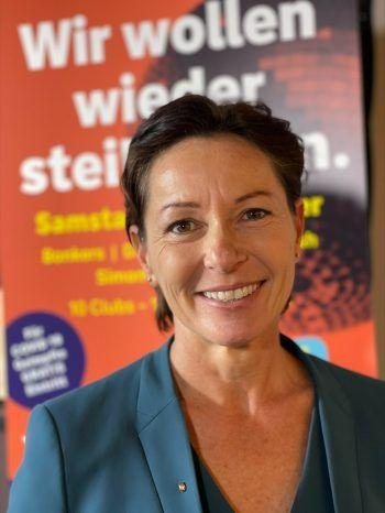 """""""Impfquote muss sich deutlich erhöhen""""             Landesrätin Martina Rüscher: """"Wir wollen mit unkomplizierten Lösungen möglichst viele noch Unentschlossene erreichen und zum Impfen bewegen. Für eine Gemeinschaftsimmunität muss sich die Impfquote deutlich erhöhen."""""""