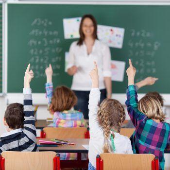In den Ganztagsklassen werden die Kinder optimal unterstützt. Foto: Shutterstock