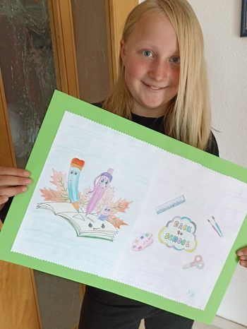 """<p class=""""caption"""">Nadacha (11 Jahre) darf sich über 200 Euro Schulgeld freuen.</p>"""