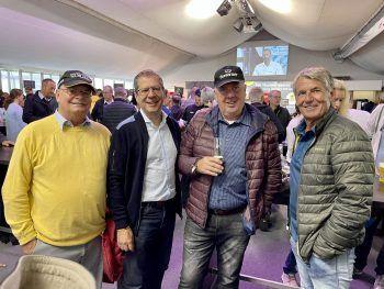 Peter Renhard, Markus Borg, Herbert Gabriel, Hubert Engstler.