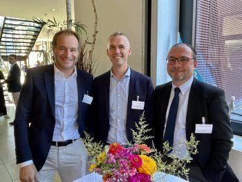 """<p class=""""caption"""">RA Alex Juen, Herbert Kaufmann, RA Thomas Willeit.</p>"""