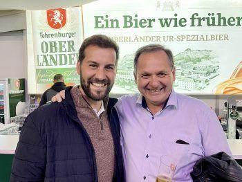 """<p class=""""caption"""">Simon Tschann und Helmut Gstöhl.</p>"""