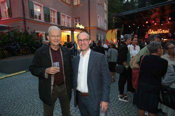 """<p class=""""caption"""">Wolfgang Gruber und Stadtrat Benedikt König.</p>"""