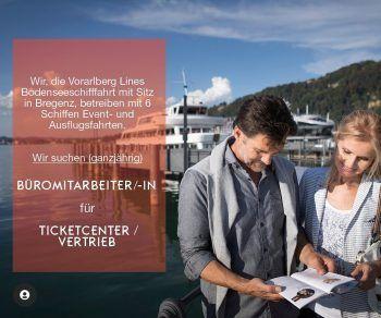 """<p class=""""caption"""">Die Vorarlberg Lines suchen derzeit Büromitarbeiter/innen für das Ticketcenter bzw. den Vertrieb.</p>"""