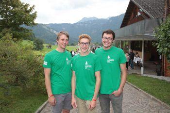 "<p class=""caption"">Lehrlinge Paul Klocker, Christoph Huber und Jakob Mayer.</p>"
