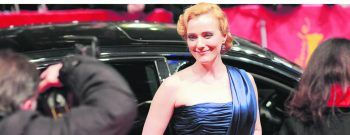 """Lena Reichmuth bei der Premiere von """"Jud Süss – Film ohne Gewissen"""" auf der Berlinale 2010.               Fotos: Petro Domenigg/FILMSTILLS.AT, Yvonne Szallies, privat"""