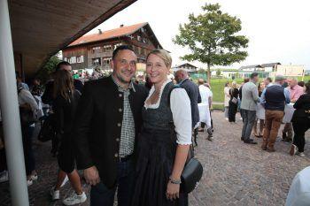 "<p class=""caption"">Markus und Abgeordnete Andrea Kerbleder.</p>"