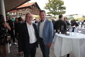 """<p class=""""caption"""">Rainer Keckeis und Bernhard Heinzle.</p>"""