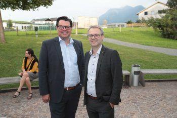 """<p class=""""caption"""">Stefan Vetter und Wolfgang Martin (Raiba).</p>"""