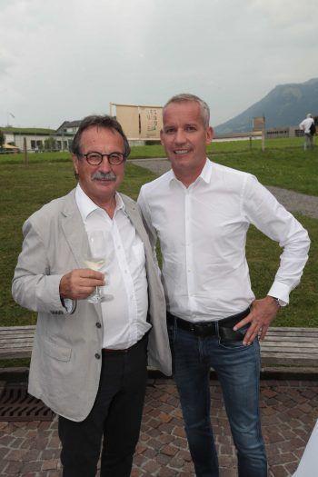 "<p class=""caption"">Walter Eberle und Sponsor Joachim Leissing (Haberkorn).</p>"