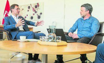 WANN & WO im Gespräch mit Landeshauptmann Markus Wallner.
